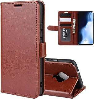 BFGTW ホルダー&カードスロット&財布&フォトフレームによるインビボS5 R64テクスチャ横一フリップ保護ケースのために (色 : Brown)