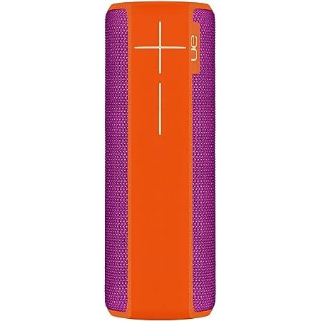 Ultimate Ears Boom 2 Tragbarer Bluetooth Lautsprecher 360 Sound Wasserdicht Und Stoßfest App Navigation Kann Mit Weiteren Lautsprechern Verbunden Werden 15 Stunden Akkulaufzeit Orange Violet Audio Hifi