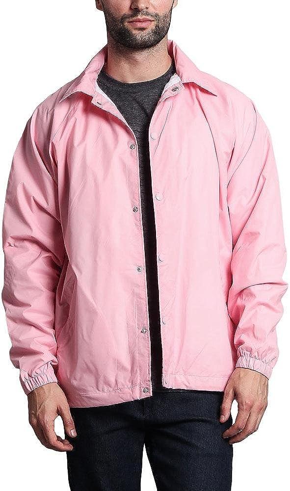 G-Style USA Dedication Men's Waterproof Coach Trust Jacket Windbreaker