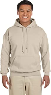 18500 - Classic Fit Adult Hooded Sweatshirt Heavy Blend - First Quality - Sand - Large