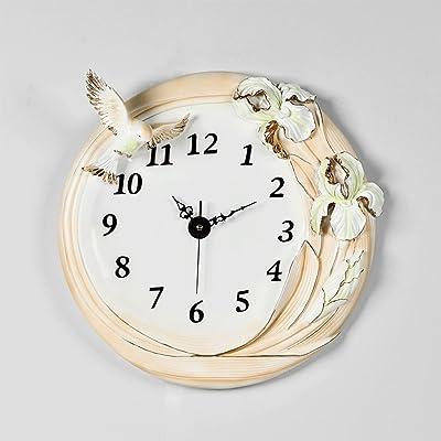 wall clock Three-dimensional Embossed Clocks Wall Clock Living Room Minimalist Modern Creative Clock Ultra