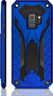 Samsung Galaxy S9 Case   Military Grade   12ft. Drop Tested Protective Case   Kickstand   Wireless Charging   Compatible with Galaxy S9 - Blue