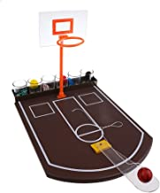 MagiDeal Mini Tabletop Basketball Shot Glass Drinking Game for Adult Home Family Christmas Toys Gift