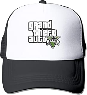 GTA V Gr-and The-ft Auto Five Unisex Adjustable Flat Baseball Cap Hip-Hop Hat