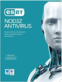 ESET Nod 32 Antivirus OEM 1 Device 1 Year Download