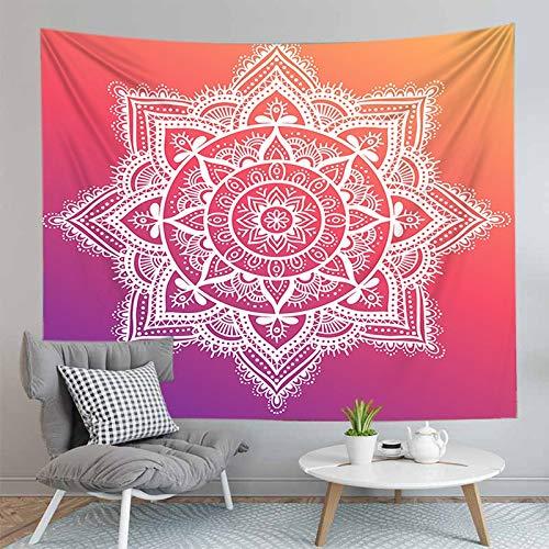 Mandala Coperta Indiano Appeso A Parete Arazzo Bohemian Yoga Tappetino Tappetino Complementi Arredo Casa Sfondo Panno Arazzo A2 73x95cm