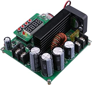 ACHICOO 900W Digital DC-DC Output 10-120V 15A Step-up Power Module Boost Converter(Green) (Hot Products)