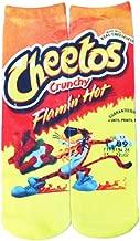 Hot Cheetos Socks Funny Cartoon Christmas Socks for Kids Women Boys Girls