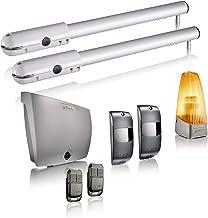 Somfy 1240370 - Motorisatie SGS Essential RTS voor toilettdeuren, levering met 2 afstandsbedieningen Keypop, oranje en fot...