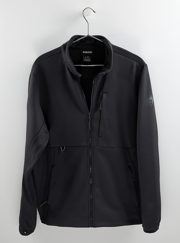Burton Men's Standard Multipath Full-Zip Fleece, True Black, Small
