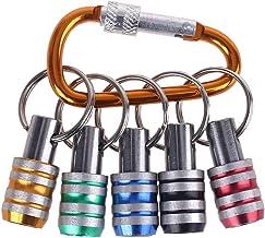 bibididi 5 stuks 1/4 inch zeskantschacht sleutelhangers verlengstang schroevendraaier bits houder sokkel, combinatie handg...