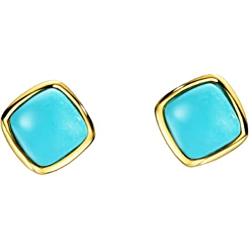 7 Ct Oval Cabochon Gemstone Rope Cable Bezel 14K Gold Plated Sterling Silver Clip On Earrings Clip Is Alloy More Colors