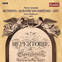 Piano Sonatas By Beethoven Schnyder Von by SONA SHABOYAN (2014-05-20)