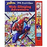 Marvel Spider-man - Web-Slinging Adventure Sound Book - Look, Find & Listen - PI Kids (Look and Find)