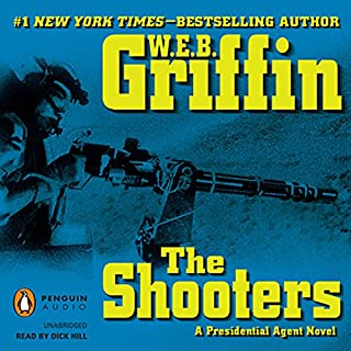 The Shooters audiobook cover art