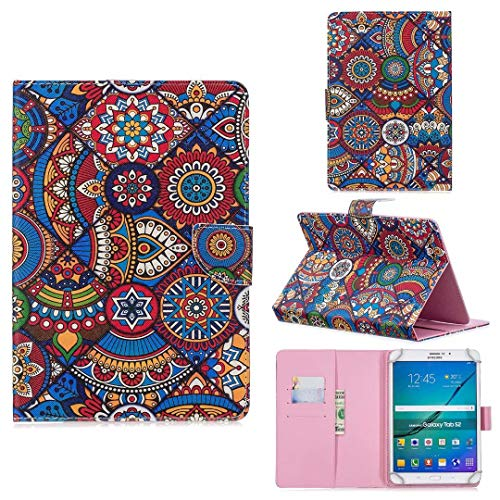8.0 Inch Tablet Case,Funda Protectora para Tableta de 7.5 a 8.5: Fire HD 8, Huawei MediaPad T3 8', iPad Mini 4, Samsung Galaxy Tab S2 8.0, Lenovo Tab 4 8 / Tarjeta 2 A8-50 (Tribal Pattern)