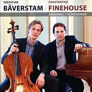Bäverstam/Finehouse Duo perform Brahms and Schemmer