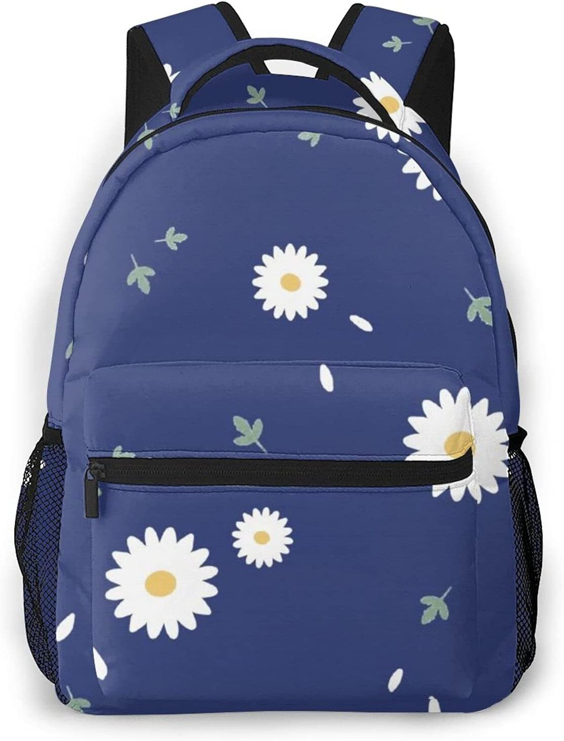 NINAINAI Fashion Blue store White Backpack Male Daisy Eco-Friendly Max 47% OFF