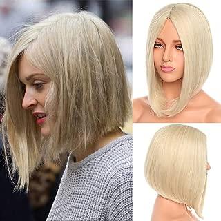 Best blonde middle part bob Reviews