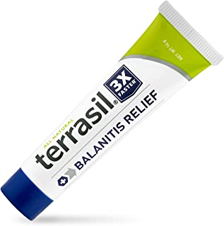 Terrasil® Balanitis Relief - Patented All-Natural, Gentle, Soothing Skin Relief Ointment for Relief from Irritation, Itch,...