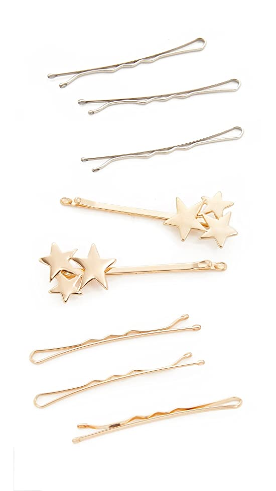 Kitsch Women's Star Bobby Pin Set