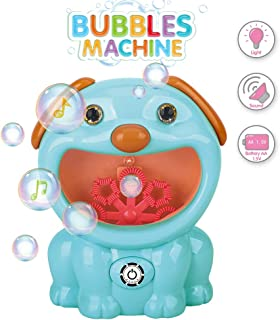 Automatic Bubble Machine Toys for Kids Toddlers Outdoors,Kids Bubble Bath Bubble Maker Machine for Bathtub,Bubble Blower Machine for Parties/Birthday/Weedings/Gifts