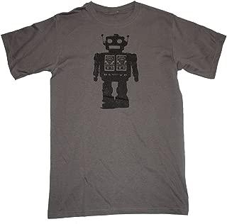 Happy Family Clothing Futuristic Robot Mens T-Shirt