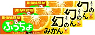 UHA味覚糖 ぷっちょスティック 幻のみかん 10粒 ×3個