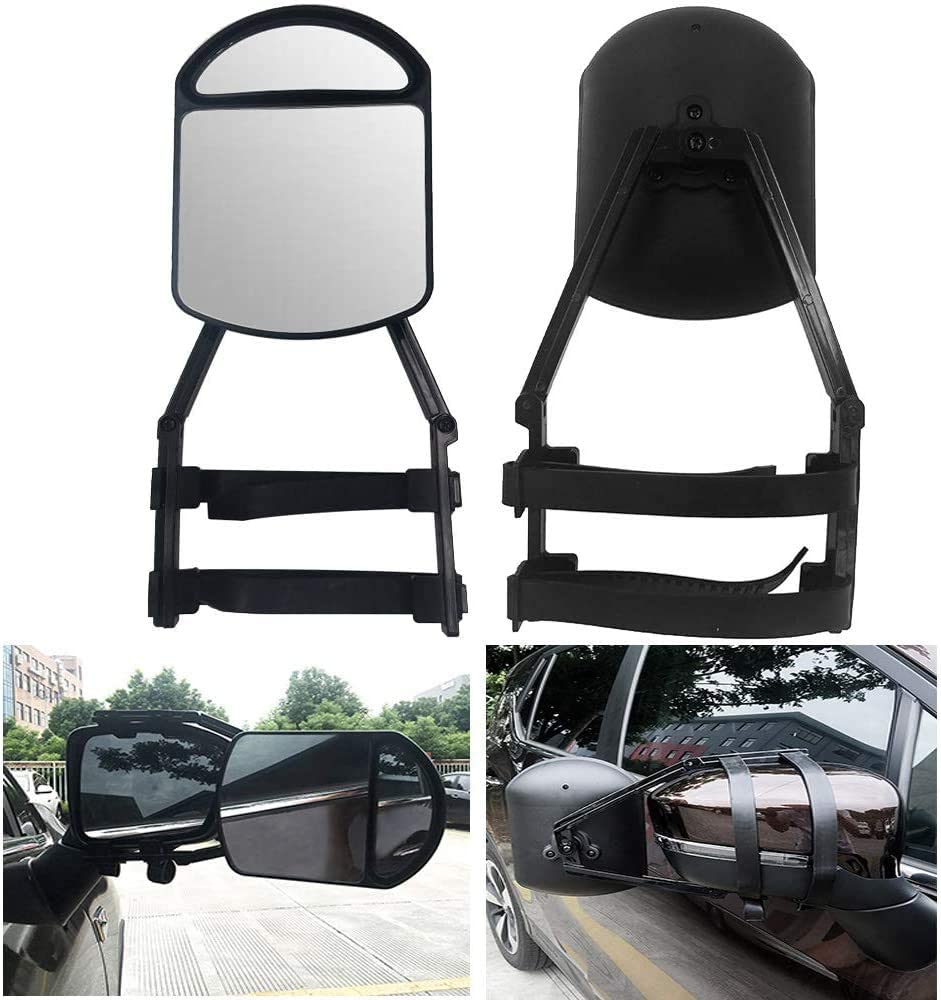 MACHSWON Clamp-On Towing Mirror Oklahoma City Mall - Vehi Securely Your onto lowest price Clamps