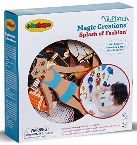 Edushape Magic Creations Bath Play Set, Fashion