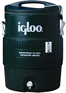 Igloo 10 Gallon Green Cooler (EA)