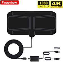 TV Aerial, Indoor HD Digital TV Antenna 80 Miles Freeview...