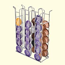QXM IJzer Chroom Plating Stand Display Rack Voor Dolce Gusto Capsule Metalen Koffiepadhouder Toren Opslag Capsule Organize...