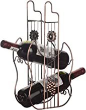 HTTJJ Creative Countertop Wine Rack, Separate Metal Bottle Holder,Large Free Standing Storage Stand,Suitable for Bars,Wine...