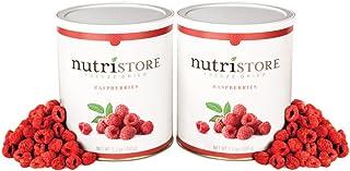 Nutristore Freeze Dried Raspberries Amazing Taste | Healthy Snack | Survival Food
