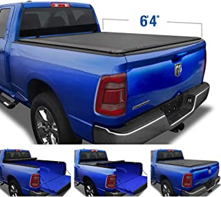 """Tyger Auto T1 Soft Roll Up Truck Bed Tonneau Cover for 2019-2020 Ram 1500 New Body Style 