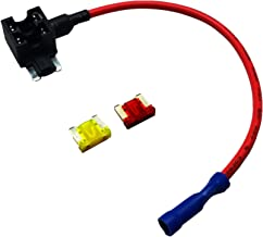Uriveusa 12V Car Add-A-Circuit Fuse TAP Adapter Fuse Holder with 10A, 20A Fuse - (2 Pack) (Low-Profile Fuse)