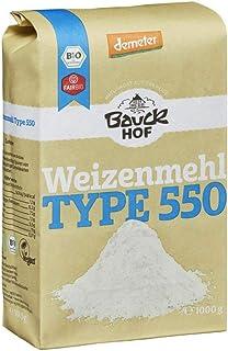 Bauckhof Bio Bauck Weizenmehl Type 550 2 x 1000 gr