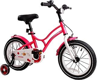 COEWSKE Kid's Bike Steel Frame Children Bicycle 14-16 Inch with Training Wheel