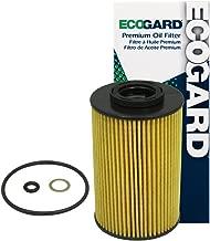 ECOGARD X5848 Cartridge Engine Oil Filter for Conventional Oil - Premium Replacement Fits Hyundai Genesis, Veracruz, Santa Fe, Genesis Coupe, Sonata, Equus, Azera, Entourage / Kia Sedona, Sorento