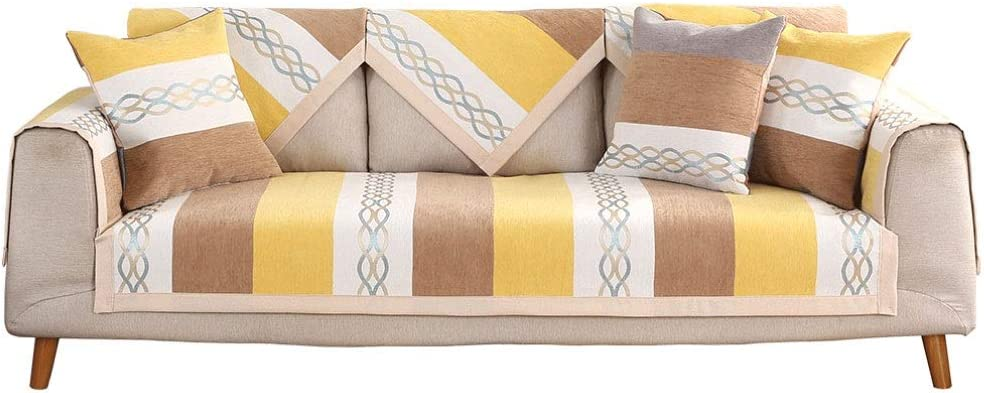 Limited price sale WDSFT Sectional Sofa Credence Covers Protector. Chenille Furniture