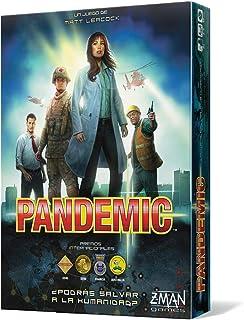 Z-man Games España Pandemic, tärningsspel, flerfärgad (ZM7101ES) – spanska språk