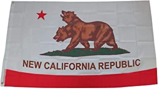 Tinuos New California Republic Flag Banner 3x5