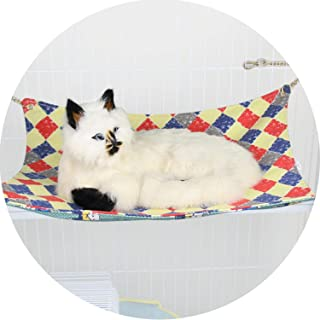 shine-hearty Cat Hammock Double Canvas Chain cat Swing Thickening cat Sleeping Bag pet Supplies OEM Processing