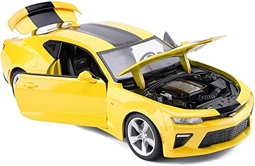 nuevo sádico Gjrff Sport Car Model Car Car Car 1 18 Simulación Aleación Die-Casting Die-Model ( Color   amarillo )  70% de descuento