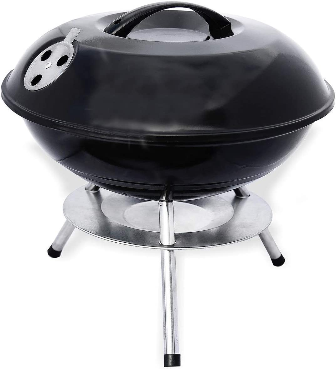 LavoHome Charcoal Grill Outdoor A surprise price is Low price realized Kettle BBQ Portable Coo Backyard