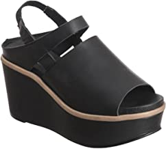 Antelope Women's 758 Leather Narrow Slit Wedge Sandals