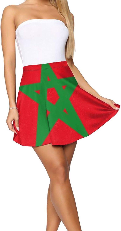 Dab Unicorn Women's Skater Skirt Casual Short Skirt