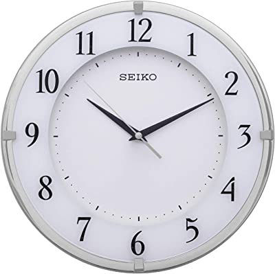 Seiko Silver Wall Clock QXA658SN(30 X 30 cm)