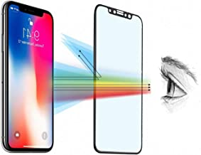 iPhone 11 XI Pro Max Privacy Screen Protector,Eastchina 6.5'' iPhone XS Max iPhone 11 Pro Max iPhone XI Pro Max Anti Spy screen film Full Coverage Blue Light Filtering Eye Proof Tempered Glass 2 Pack